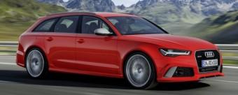 Audi RS6 Avant 2016 action side