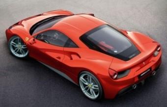 Ferrari 488GTB overhead
