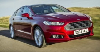 Ford Mondeo 2015 action front