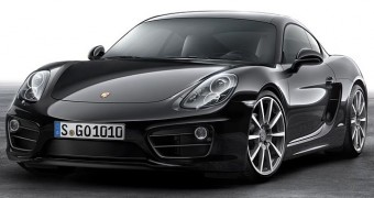Porsche Cayman Black 2016