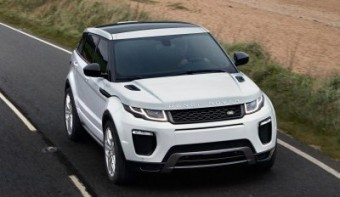 Range Rover Evoque MY16 action front trimmed