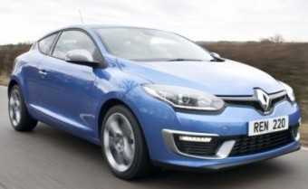 Renault Megane GT220Coupe action front