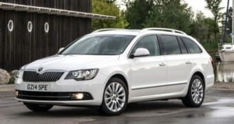 Skoda Superb Estate business trimmed