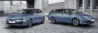 Toyota Auris and Avensis Geneva2015