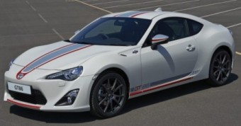 Toyota GT86 Blanco front and side
