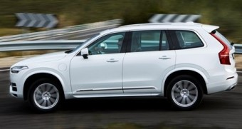Volvo XC90 T8 side action med