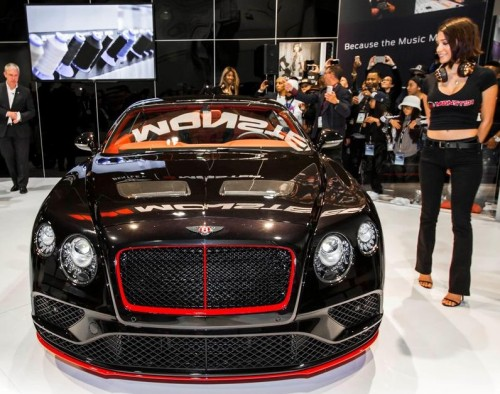 Bentley that's music to ears