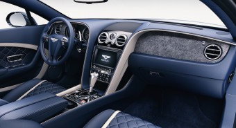 Thin stone veneer inside Bentley