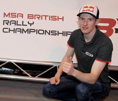 Thumbs up from Elfyn Evans for 2016 BRC series