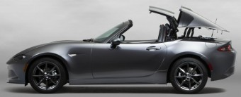 Folding metal roof on new Mazda MX-5
