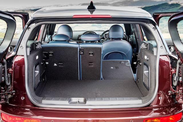 Side hinged rear doors in Clubman