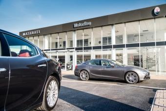 Exterior Motorline Maserati Cardiff