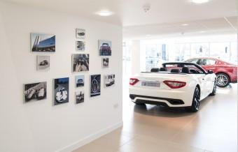 Inside Motorline Maserati Cardiff