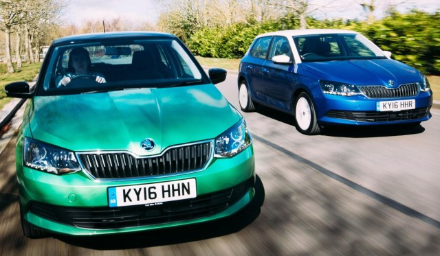 New spring colours from Skoda