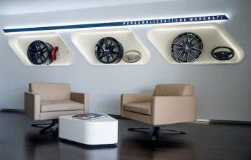 Customer consultation area Motorline Maserati