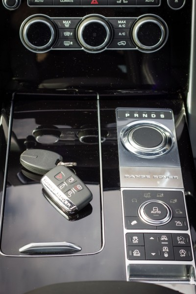 Gear selector rises when engine starts