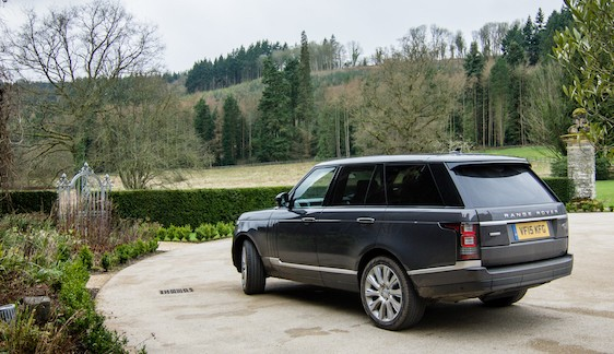 Ready to go Range Rover Autobiography