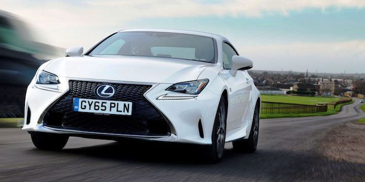Lexus RC 200t is stunning newcomer with rarity value