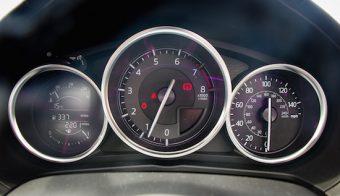 Mazda MX5 dials