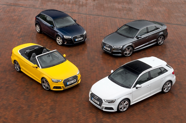 A3 range offers something for everyone