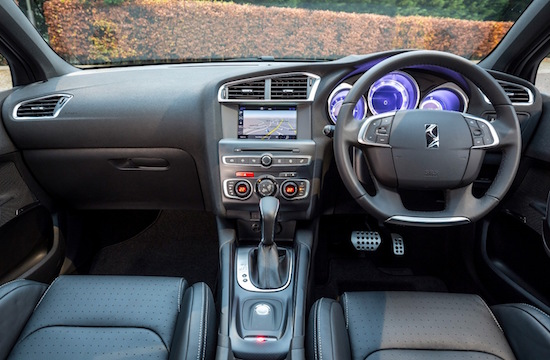 Style led interior is bursting with technology as well