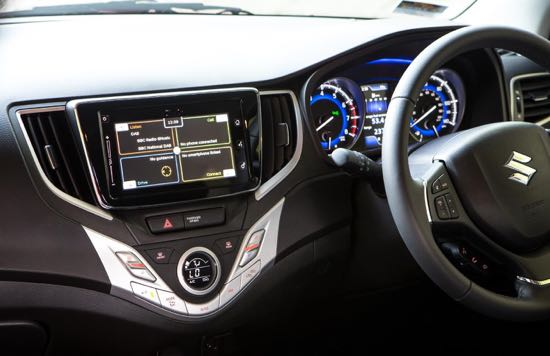 Infotainment system comprehensive but not easy to use