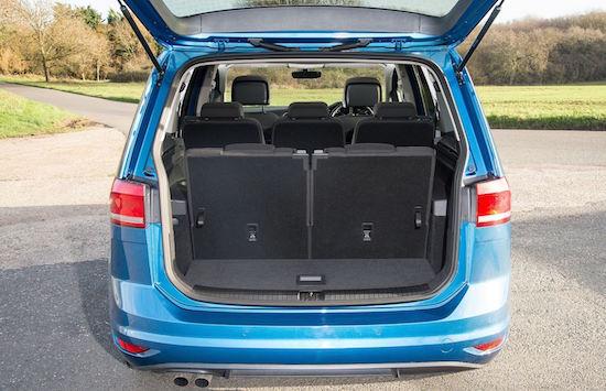 Plenty of room and versatile load area