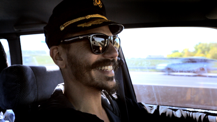 Zan is a co-driver in the C4 short film today of a US roadtrip