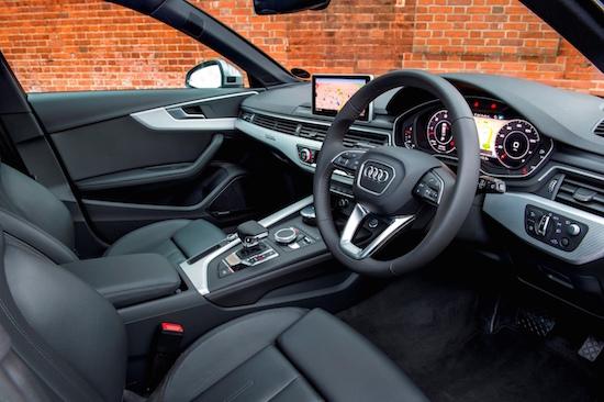 AUDI A4 ALLROAD front interior