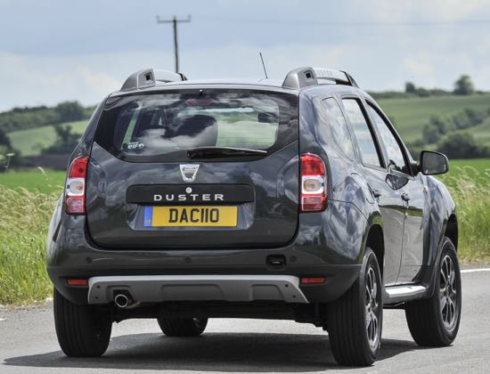 Safe handling reassures in Dacia Duster