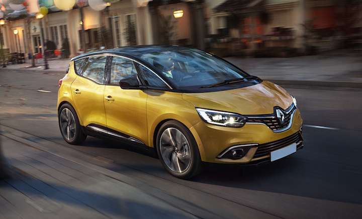 New Renault Scenic tops safety league