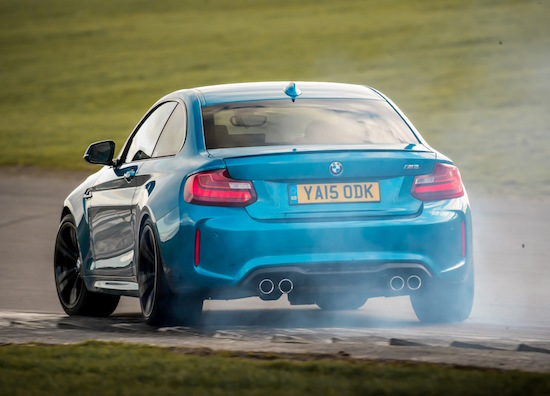 bmw-m2-coupe-smoking-rear-action