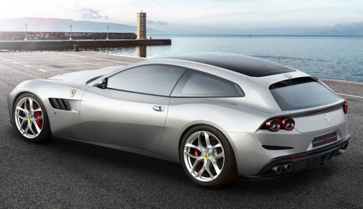 Shooting brake inspirred new Ferrari on show this week at Paris