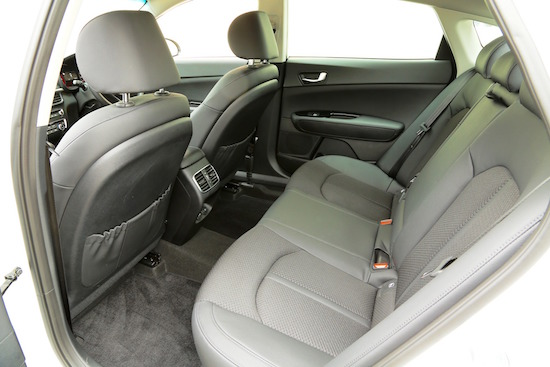 Roomy for rear seat passengers, ideal as future taxi