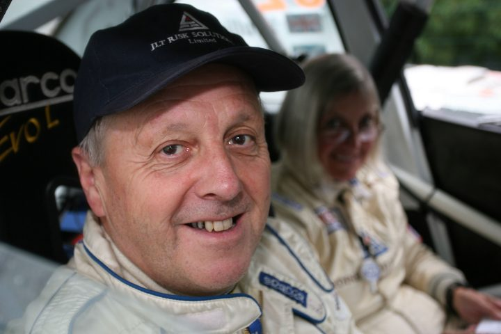 Jimmy McRae and Pauline Gullick World Copyright - Ebrey/LAT Photographic
