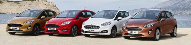 Four versions of new Ford Fiesta begin arriving next summer