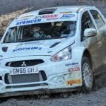 Osian Pryce Cambrian Rally 2018