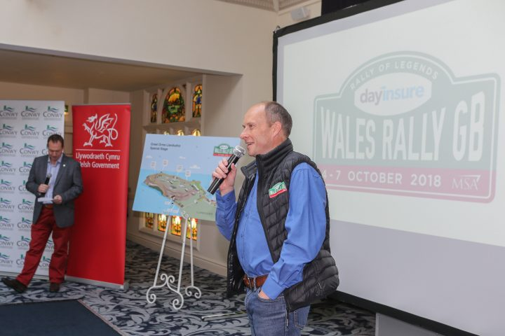 WRGB boss Ben Taylor outlined the route and event plan