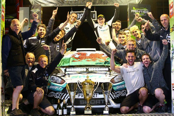 M-Sport celebrate in Belgium